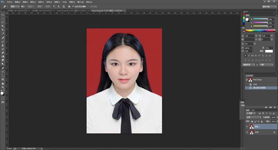 Photoshop一学就会的证件照换背景颜色,赶紧学起来吧!
