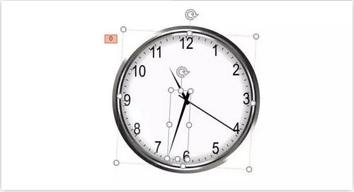PPT动画制作教程——只需五步就能做出时钟秒针动画效果教程!
