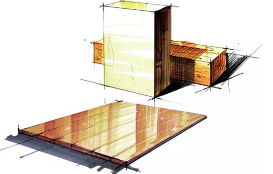 马克笔手绘教程——建筑设计上色篇