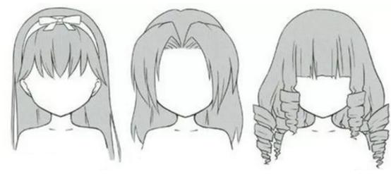 手绘漫画人物教程,论发型的重要性!