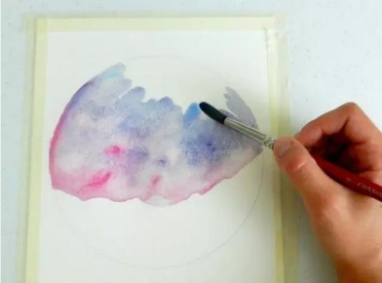 【手绘星空教程】用最简单的方法画最美的星空!