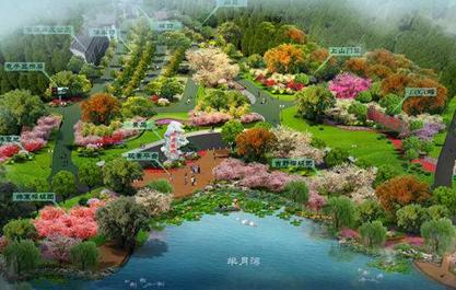 建筑设计——园林景观建筑园路设计的功能与特点