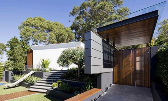 建筑设计——悠闲园林的庭院建筑设计效果图赏析